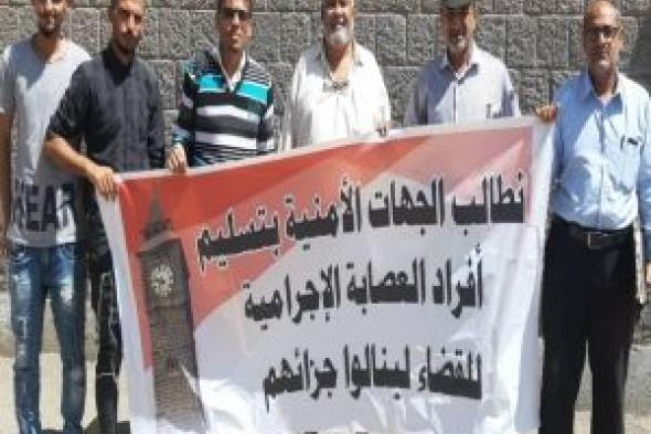 """لجنة الدفاع عن حراس ساعة """"بيج بن"""" في التواهي تناقش خطتها التصعيدية للضغط على السلطات بتسليم العصابة المسلحة"""