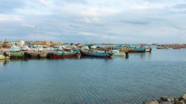 جزيرة سواكن المطلة على البحر الأحمر