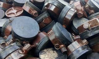 عاجل : حزام أبين الأمني يعثر على مستودع للألغام يتبع تنظيم القاعدة بخبر المراقشة
