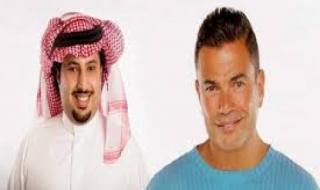 شاهد.. تركي آل الشيخ يخوض تحدي الـ10 سنوات بصورة للفنان المصري عمرو دياب