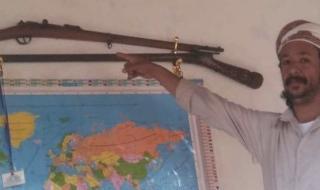 اختتام مزاد في العياسئ على بندقية عربية قديمة لصالح شق طريق مكرد تيوعال الجمهة وصل الى 16000000 ريال يمني