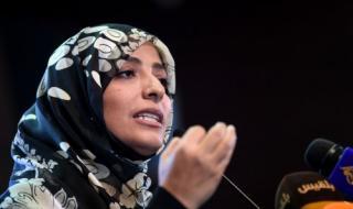"""تناقض """"توكل كرمان"""" يكشف التقارب بين مليشيا الحوثي وحزب الإصلاح (تقرير)"""