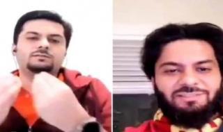 """كشف هوية الشاب السعودي المتلحي الذي ظهر مع""""رهف""""في كندا.. وحقيقة هروبه بعد اختلاسه مبلغًا ماليًا من شركة في المملكة!"""