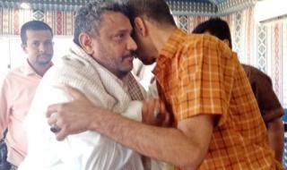 حسين الجنيدي والقائد ابو مهتم وعدد من القيادات يحكمون الشيخ علي الطاهري المصعبي