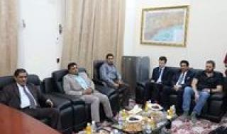 شاهد.. ننشر تفاصيل زيارة الوفد الأممي من مكتب المبعوث الخاص لليمن لمحافظة حضرموت