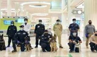 دولة الإمارات الأولى عالميا في الكشف عن كورونا بالكلاب البوليسية