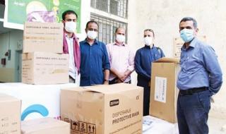 14 ألف مستفيد من مشاريع الإمارات لتوزيع الأضاحي في اليمن
