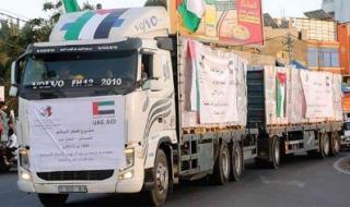 مؤسسة خليفة بن زايد آل نهيان للأعمال الإنسانية تننفذ العديد من المبادرات الخيرية في الأراضي الفلسطينية