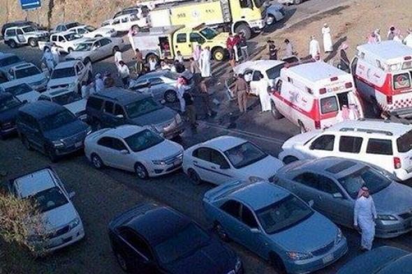 حادث مروري ينتهي بجريمة قتل بحي العقيق بالسعودية