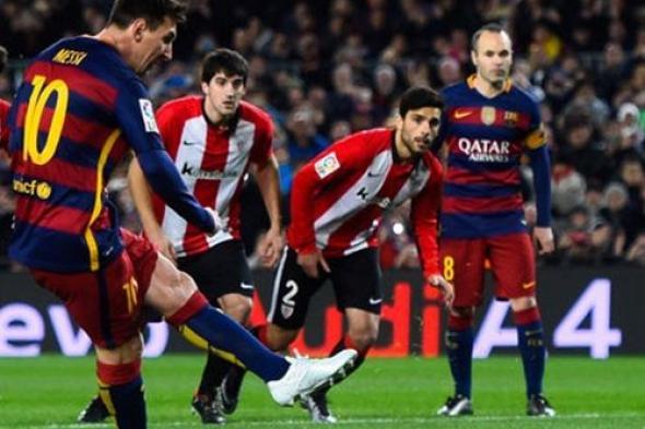 مشاهدة مباراة برشلونة واتلتيك بلباو بث مباشر اليوم 28-10-2017 الدوري الاسباني