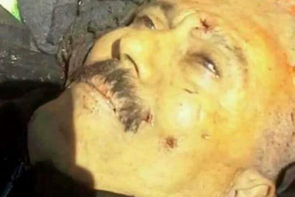 يحي الراعي يتسلم جثة الرئيس السابق صالح