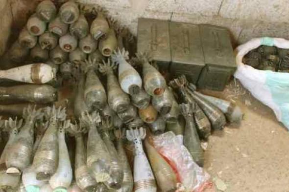 الحزام الأمني في لحج يضبط شحنة أسلحة قادمة من مأرب وفي طريقها إلى عدن