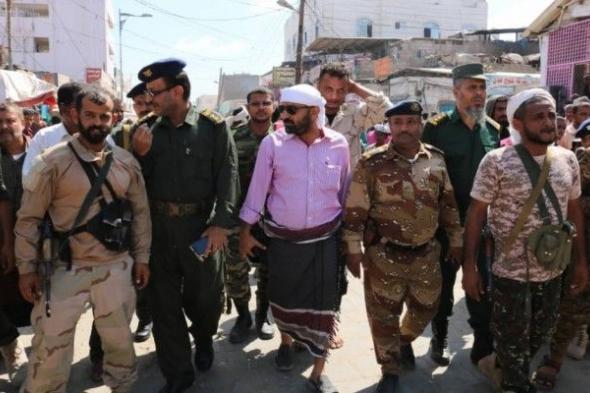 السلطة المحلية بمديرية الشيخ عثمان بعدن تطلق حملة على الدراجات النارية