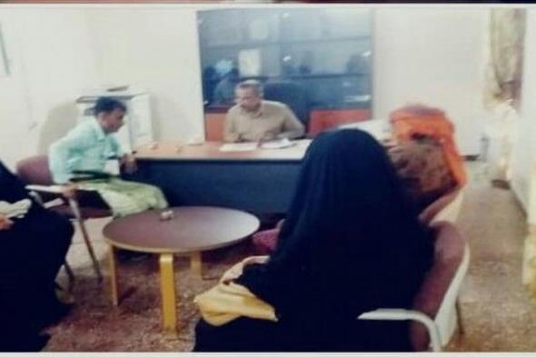 مؤسسة الخليج العربي للتنميه تزور مكتب الصحه وتكرم المدير العام