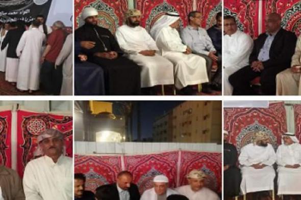 أبناء الجنوب في السعودية يقيمون مراسم عزاء للشهيد اللواء طماح