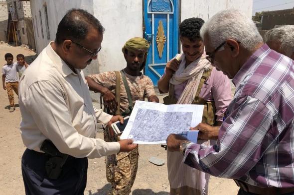 : أمين عام محلي دارسعد يقوم بتسليم مشروع تأهيل مناهل وشبكة مياة الصرف الصحي بمنطقة البساتين و الحفر