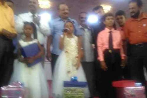 البكري و اليزيدي و الزعوري يدشنوا حفل اختتام مسابقة المنشد الصغير و يوزعوا الجوائز على الفائزين من مدارس لحج