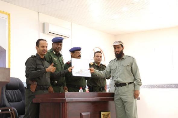 : وزارة الداخلية تحتفل باليوم العالمي للدفاع المدني بعدن