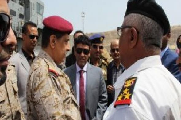 : اللجنة الرئاسية تتفقد النشاط الملاحي لميناء نشطون واحتياجات القوات البحرية بالمهرة