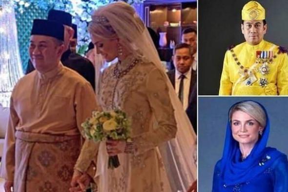 ''ولي العهد'' يتزوج حسناء سويدية .. شاهد جمالها الفاتن