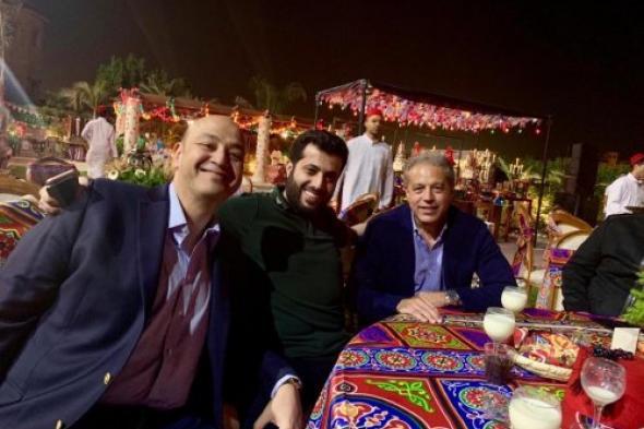 تركي آل الشيخ والدرندلي في ضيافه عمرو أديب