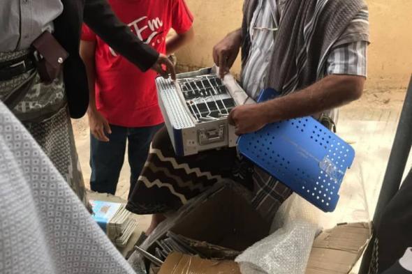 مؤسسة يافع للعمل والإنجاز تزور مستشفى النصر بالضالع وتدعم المستشفى بمستلزمات وأدوات طبية
