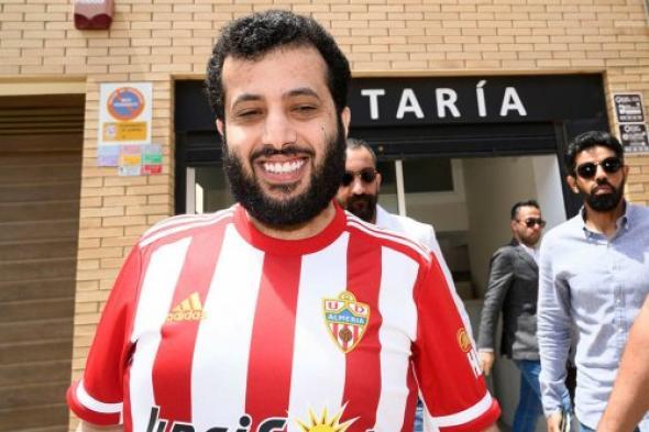 """نادي ألميريا يطلق حسابه الرسمي باللغة العربية بـ """"تويتر"""""""