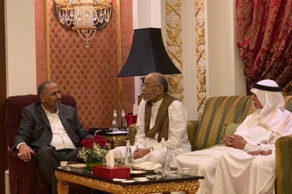 الرئيس الزُبيدي يلتقي رئيس حزب رابطة أبناء الجنوب العربي الحر السيد عبدالرحمن الجفري
