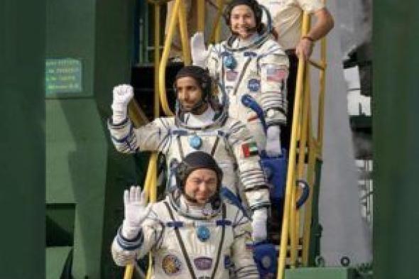 انطلاق أول رائد عربي إلى محطة الفضاء الدولية