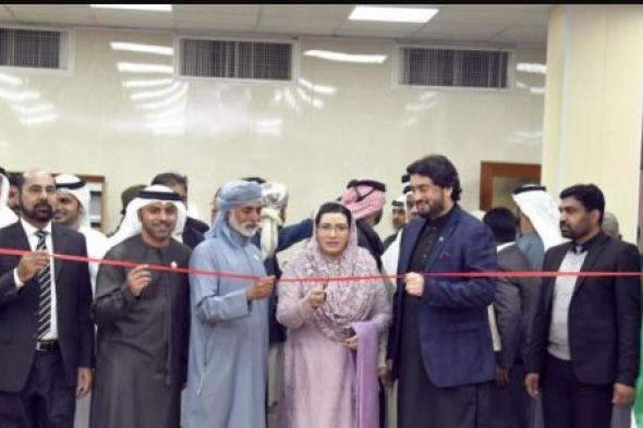 الرئيس الباكستاني يستقبل وزير التسامح الإماراتي