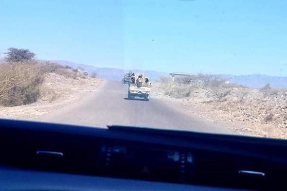 """لواء الشهيد """"شلال الشوبجي"""" يدفع بتعزيزات عسكرية الى جبهة بـتـار شمال الضالع"""