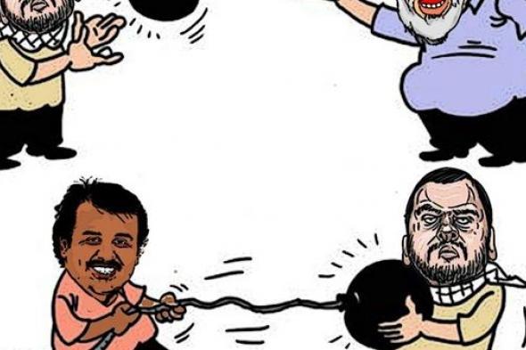 تبادل (كاريكاتير)