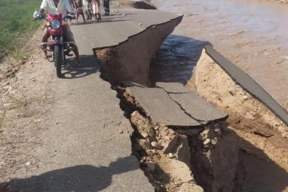 قرى ساحل #أحـور مابين ضحية السيول الجارفة وتخاذل الجهات الحكومية