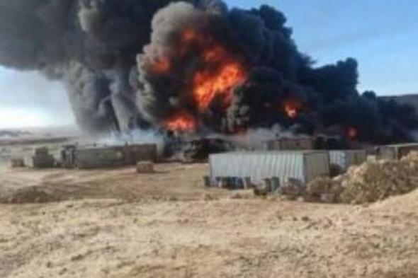 #الحوثيون يقصفون منشأة نفطية في #مأرب
