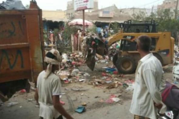 بإشراف #الحنيشي انتقالي لحج يواصل حملاته التنظيفية لمدينة الحوطة لليوم الرابع على التوالي