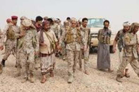وزير الدفاع يتفقد الوحدات القتالية بمحافظة الجوف