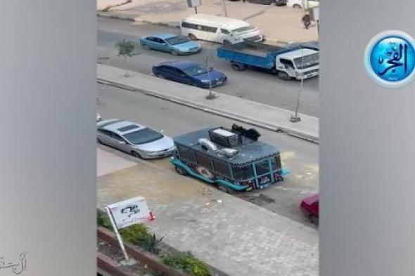 سيارة طبخ في شارع السباق بمصر الجديدة تهدد حياة المواطنين